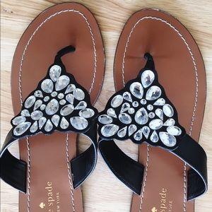 Black Kate Spade Sandals